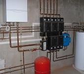 монтаж систем отопления в Анапе