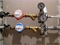 монтаж счетчиков воды в Анапе