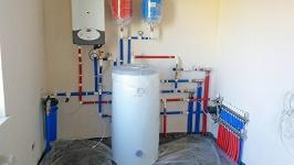 установка котлов отопления в Анапе